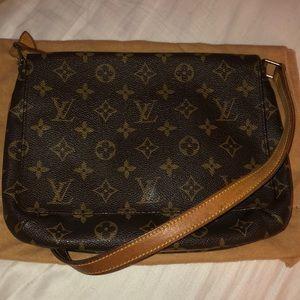 Vintage Monogram Louis Vuitton Shoulder Bag